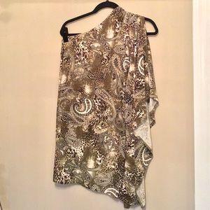 Off the shoulder pattern dress